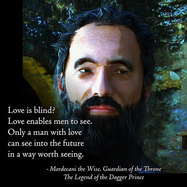 Mordecani the Wise—Love quotation