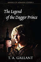 The Legend of the Dagger Prince book cover